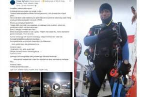 Penyelam, Syachrul Anto maut dalam operasi SAR Lion Air