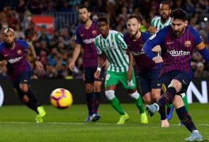 Barcelona hambar dalam separuh masa pertama – Valverde