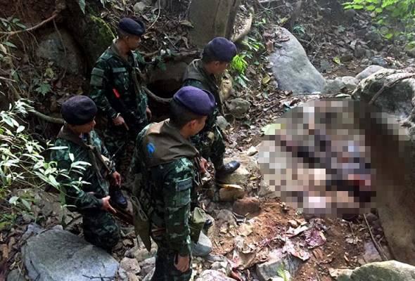 Lima penghantar dadah terbunuh dalam pertempuran dengan tentera Thailand