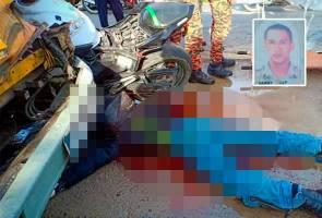 Anggota tentera maut motosikal rempuh bas sekolah