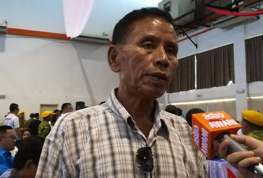 Salah seorang petani, Doon Mahudin.
