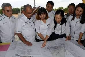 Sekolah baharu yang dibina akan dilengkapi fasiliti mesra OKU