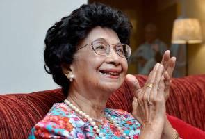 Tun Siti Hasmah kongsi tip 'kekal muda' pada usia 92 tahun