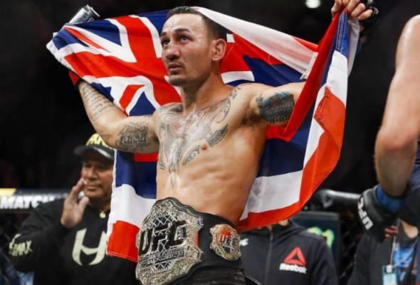 MMA: Max Holloway kekalkan kejuaraan featherweight UFC