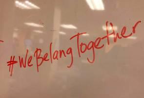 Bagaimana Hashtag #WeBelangTogether yang dikatakan 'comel gila' tercipta?