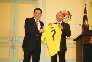 Piala AFF Suzuki: Jangan kecewakan saya, rakyat Malaysia - Tun Mahathir