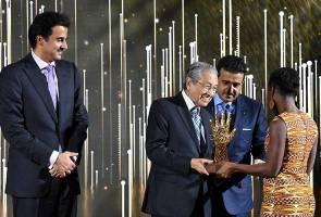 Malaysia sumbang dana untuk mangsa terkorban perangi rasuah - Tun Mahathir