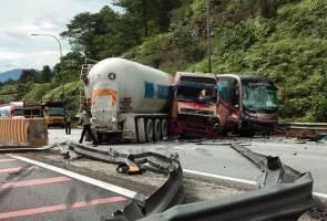 Kemalangan dekat Terowong Menora, tujuh cedera