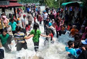 Fenomena air pasang besar di Tanjung Piai jadi tarikan pengunjung