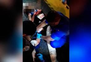 Dua parah dirempuh ketika sertai maraton Pulau Pinang