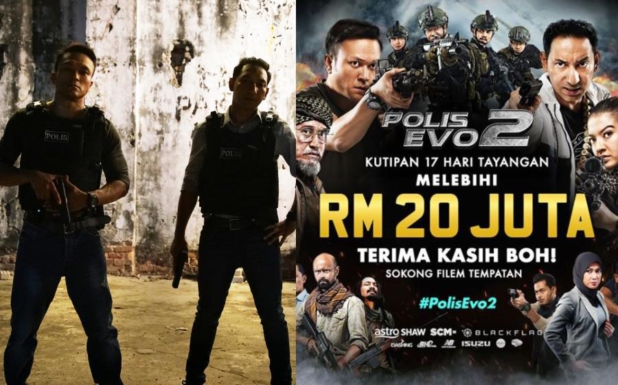 Polis Evo 2 raih lebih RM20 juta selepas 17 hari tayangan