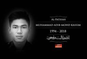 Muhammad Adib meninggal dunia