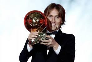 Modric menang anugerah Ballon d'Or 2018