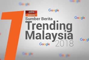 Astro AWANI sumber berita paling trending 2018 di Google
