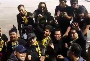 Selepas 'mengekor' semalaman, Syed Saddiq nyatakan rasa bangga pada Ultras Malaya