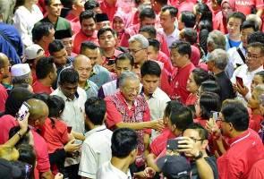 Rakyat Sarawak sertai Bersatu kerana mahu lawan rasuah - Akar umbi