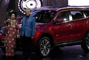 Kereta SUV pertama Proton X70 dirasmikan Tun Dr Mahathir