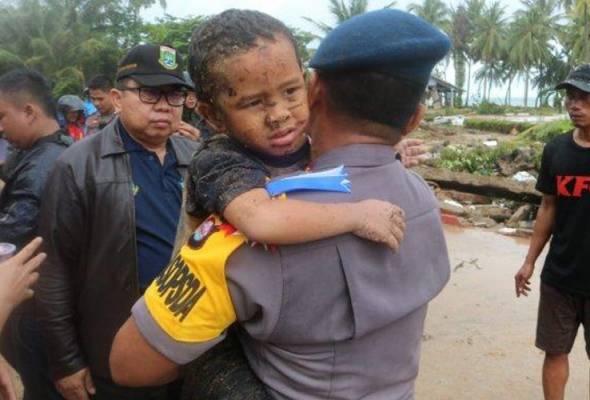 Tsunami Selat Sunda: Selepas 12 jam, tangisan Ali didengari, dia akhirnya terselamat
