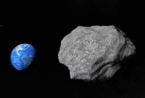 Asteroid gergasi bakal memasuki atmosfera bumi?