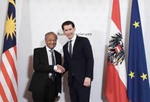 Tun Mahathir mahu hubungan Malaysia-Austria lebih rancak