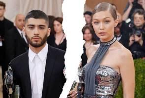 Pengakhiran hubungan buat pasangan 'belangkas' Gigi Hadid dan Zayn Malik