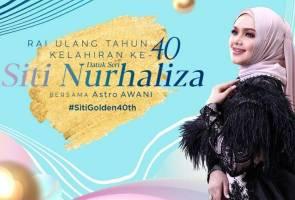 Astro AWANI rai ulang tahun kelahiran Siti Nurhaliza