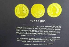 Polis tahan Datuk Seri, tipu jual syiling emas potret Sultan Pahang