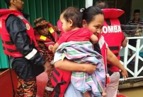 23 penduduk diselamatkan selepas 4 jam terperangkap kerana banjir di Sandakan