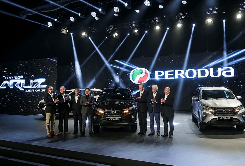 Perodua lancar SUV pertama Aruz  Astro Awani