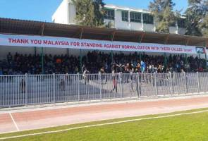 Sekat atlet Israel: Rakyat Palestin zahir penghargaan atas pendirian Malaysia