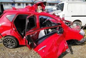 Tiga maut dalam kemalangan di Rantau Panjang