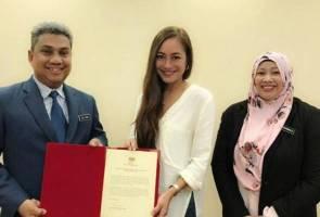Prihatin isu alam sekitar, Maya Karin dilantik sebagai duta River of Life