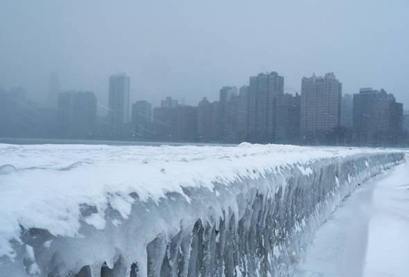 Sekurang-kurangnya 12 maut akibat cuaca sejuk melampau di AS