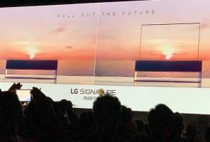 CES 2019: LG sah pasarkan telefon 5G, juga perkenalkan TV 8K boleh lipat