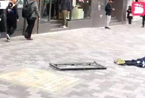 Wanita maut dihempap tingkap hotel tertanggal