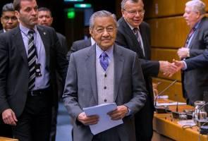 Israel negara penjenayah, kami tidak mahu penjenayah - Tun Mahathir