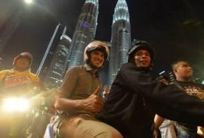 Syed Saddiq tidak 'serik', kembali 'merempit' di malam Tahun Baharu 2019