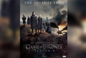 Episod pertama 'Game of Thrones' dicetak rompak 54 juta kali dalam 24 jam
