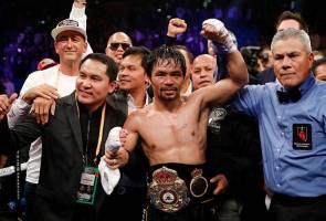 Manny Pacquiao kekalkan kejuaraan welterweight WBA