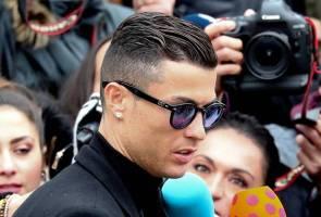 Cristiano Ronaldo mengaku bersalah penipuan cukai