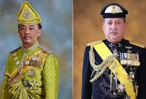 Sultan Johor zahir tahniah atas pemasyhuran Sultan Pahang