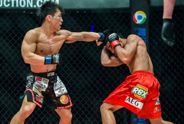 Yosuke Saruta scored a monumental upset of now former champion Joshua Pacio to capture the ONE Strawweight World Championship.