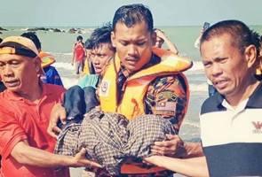 Kanak-kanak hilang ditemui lemas di Pantai Tanjung Balau