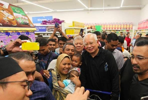 Rakyat harus ingat bahawa kerajaan Barisan Nasional sudah tumbang kerana Najib
