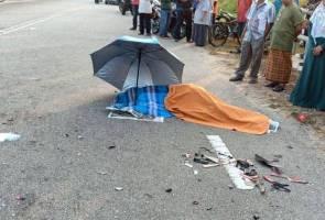 Murid maut dalam nahas dua motosikal di Kepala Batas