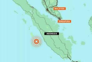 Gempa bumi 6.1 magnitud dikesan berhampiran Sumatera