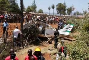 Pesawat kecil terhempas di Kenya, lima maut