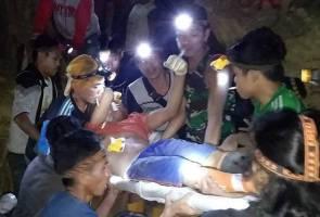 60 tertimbus bawah runtuhan lombong emas di Sulawesi