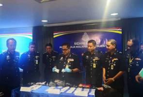 Suami isteri ditahan, edar syabu bernilai RM108,000