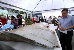 Buat pertama kali, dua serpihan pesawat MH370 dipamerkan kepada awam
